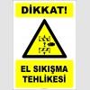 EF2845 - Dikkat! El Sıkışma Tehlikesi