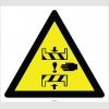 EF2846 - Dikkat! Preste El Sıkışması Tehlikesi İşareti