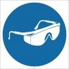 EF2850 - Koruyucu Gözlük Kullan İşareti/Levhası/Etiketi