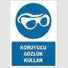 EF2851 - Koruyucu gözlük kullan