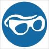 EF2852 - Koruyucu Gözlük Kullan İşareti/Levhası/Etiketi