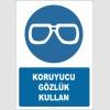 EF2864 - Koruyucu gözlük kullan