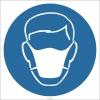 EF2869 - Maske Kullan İşareti/Levhası/Etiketi