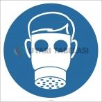 EF2872 - Maske Kullan İşareti/Levhası/Etiketi