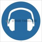 EF2876 - Koruyucu Kulaklık İşareti Levhası/Etiketi