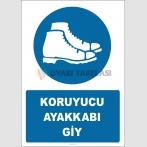 EF2881 - Koruyucu Ayakkabı Giy