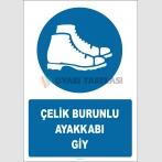 EF2883 - Çelik Burunlu Ayakkabı Giy