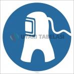 EF2888 - Solunum Aygıtı İşareti/Levhası/Etiketi