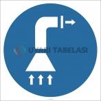 EF2893 - Havalandırma İşareti/Levhası/Etiketi