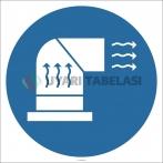 EF2895 - Havalandırma Yap İşareti/Levhası/Etiketi