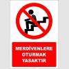 EF2829 - Merdivenlere Oturmak Yasaktır