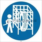 EF2929 - Lastikleri Lastik Şişirme Kabininde Şişir İşareti/Levhası/Etiketi