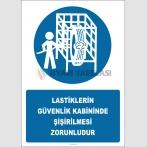EF2930 - Lastiklerin Güvenlik Kabininde Şişirilmesi Zorunludur