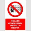 EF2951 - İskelenin Altında Durmak Tehlikeli ve Yasaktır