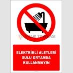 EF2983 - Elektrikli Aletleri Sulu Ortamda Kullanmayın