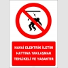 EF2988 - Havai Elektrik İletim Hattına Yaklaşmak Tehlikeli ve Yasaktır