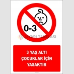 EF3001 - 3 Yaş Altı Çocuklar İçin Yasaktır