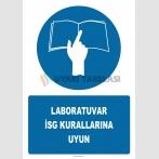 PF1045 - Laboratuvar İSG Kurallarına Uyun