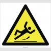 PF1017 - Dikkat! Kaygan Zemin Kayma Düşme Tehlikesi İşareti