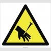 PF1018 - Dikkat! Çivi Batma El Yaralanma Tehlikesi İşareti