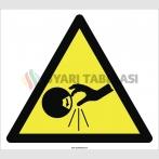 PF1025 - Dikkat! El Kesilme/YaralanmaTehlikesi İşareti