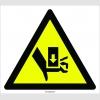 PF1090 - Dikkat! El Sıkışma/Ezilme Tehlikesi İşareti