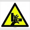 PF1092 - Dikkat! El Sıkışma/Ezilme Tehlikesi İşareti