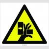 PF1094 - Dikkat! El Sıkışma/Ezilme Tehlikesi İşareti