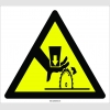 PF1099 - Dikkat! El Kesilme/YaralanmaTehlikesi İşareti