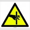 PF1105 - Dikkat! El Kesilme/YaralanmaTehlikesi İşareti