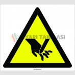 PF1151 - Dikkat! El Kesilme/YaralanmaTehlikesi İşareti