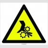 PF1154 - Dikkat! El Sıkışma/Ezilme Tehlikesi İşareti