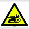 PF1153 - Dikkat! El Sıkışma/Ezilme Tehlikesi İşareti