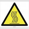 PF1020 - Dikkat Sıcak Yüzey Yanma Tehlikesi İşareti