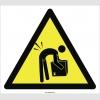 PF1026 - Dikkat! Ağır Yük Elle Kaldırmak Bel İncinmesine Neden Olabilir İşareti