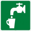 PF1027 - İçme Suyu İşareti Levhası/Etiketi
