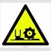 PF1088 - Dikkat! Ayak Kesilme/YaralanmaTehlikesi İşareti