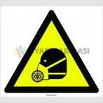 PF1109 - Dikkat! Solunum Koruma İkaz İşareti