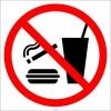 PF1116 - Sigara, Yemek ve İçmek Yasaktır İşareti