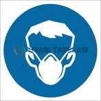 PF1138 - Toz Maskesi Kullan İşareti/Levhası/Etiketi