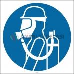PF1139 - Solunum Aygıtı Kullan İşareti/Levhası/Etiketi