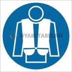PF1141 - Can Yeleği İşareti/Levhası/Etiketi