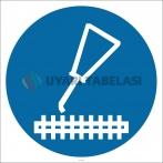 PF1142 - Yağlama Yapın İşareti/Levhası/Etiketi