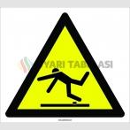 PF1148 - Dikkat! Engel Var Tökezleme Düşme Tehlikesi İşareti