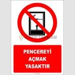 PF1171 - Pencereyi Açmak Yasaktır