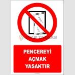 PF1172 - Pencereyi Açmak Yasaktır