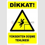 PF1198 - Dikkat! Yüksekten Düşme Tehlikesi