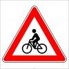 PF1249 - Bisiklet Geçebilir Trafik Levhası