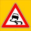 PF1238 - Kaygan Yol Trafik Levhası