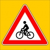 PF1250 - Bisiklet Geçebilir Trafik Levhası
